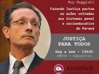 Fazendo Justiça e as ações voltadas aos Sistemas penal e socioeducativo do Paraná