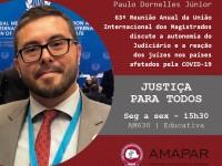63ª Reunião Anual da União Internacional dos Magistrados discute a autonomia do Judiciário e a reação dos juízes nos países afetados pela COVID-19