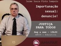 Importunação sexual: denuncie!