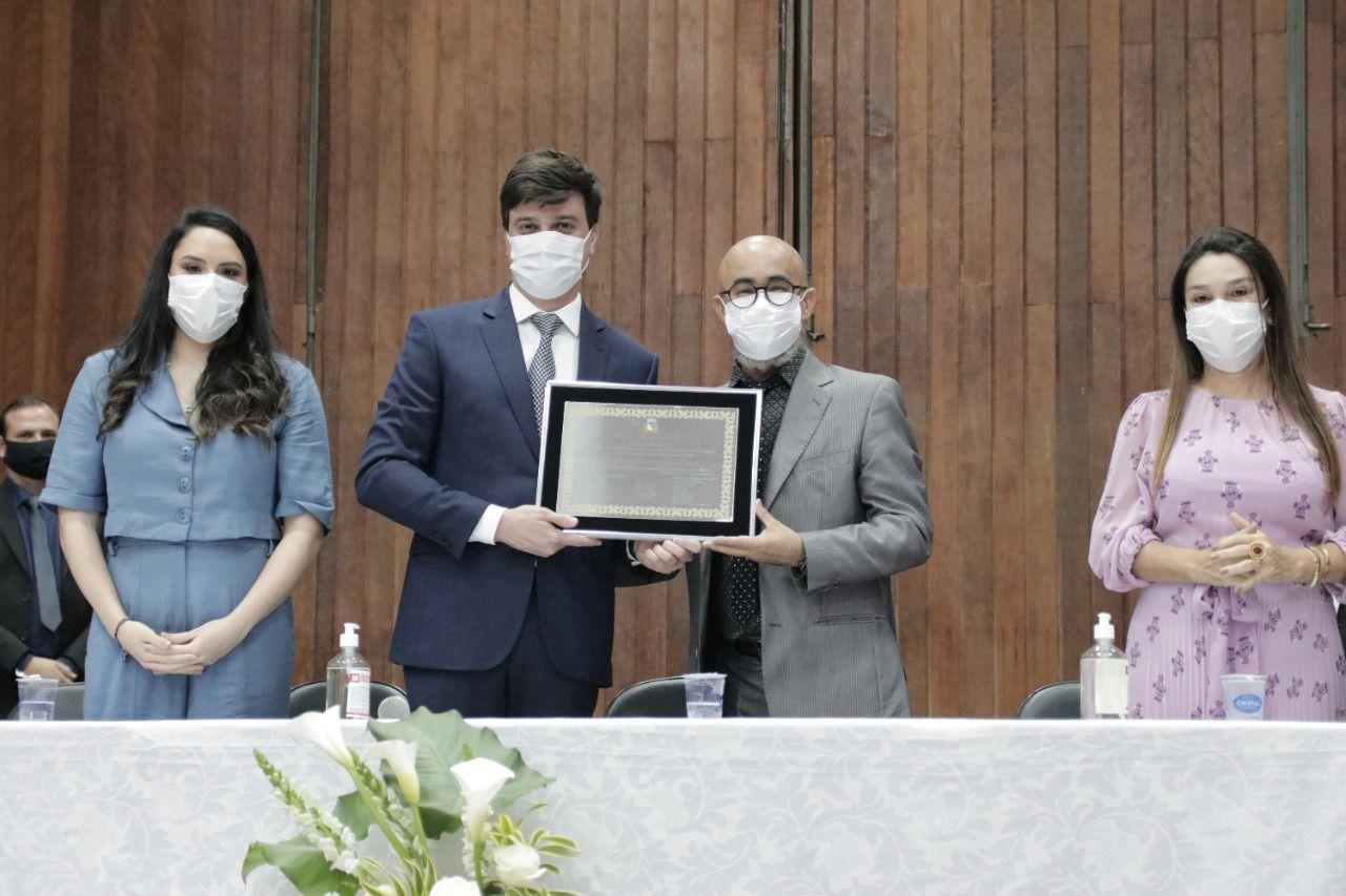 Juiz Carlos Eduardo Zago Udenal é agraciado com o título de cidadão honorário de Pérola (PR)